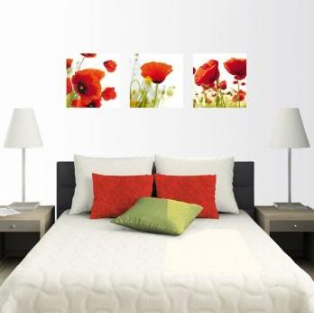 Dormitorio blanco con cuadros by - Cuadros dormitorios juveniles ...