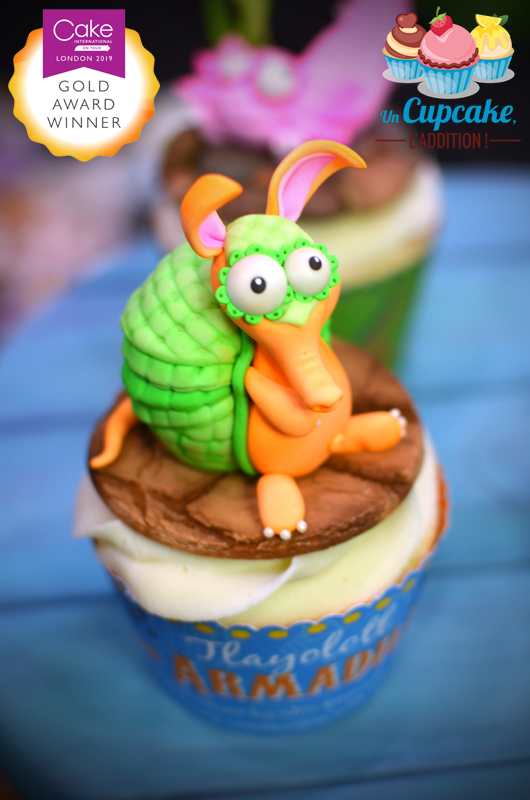 Cupcakes « Alebrijes Mexicains » - Tlayolotl le Tatou
