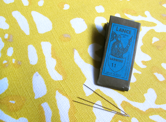 oonaballoona | a sewing blog | my favorite sewing goodies #1 | lance needles