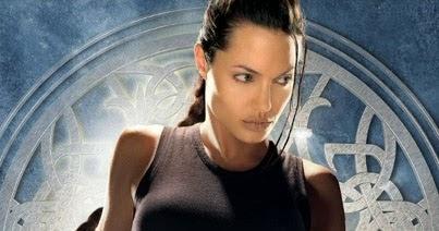Travis Simpkins Lara Croft Tomb Raider 2001 Angelina Jolie