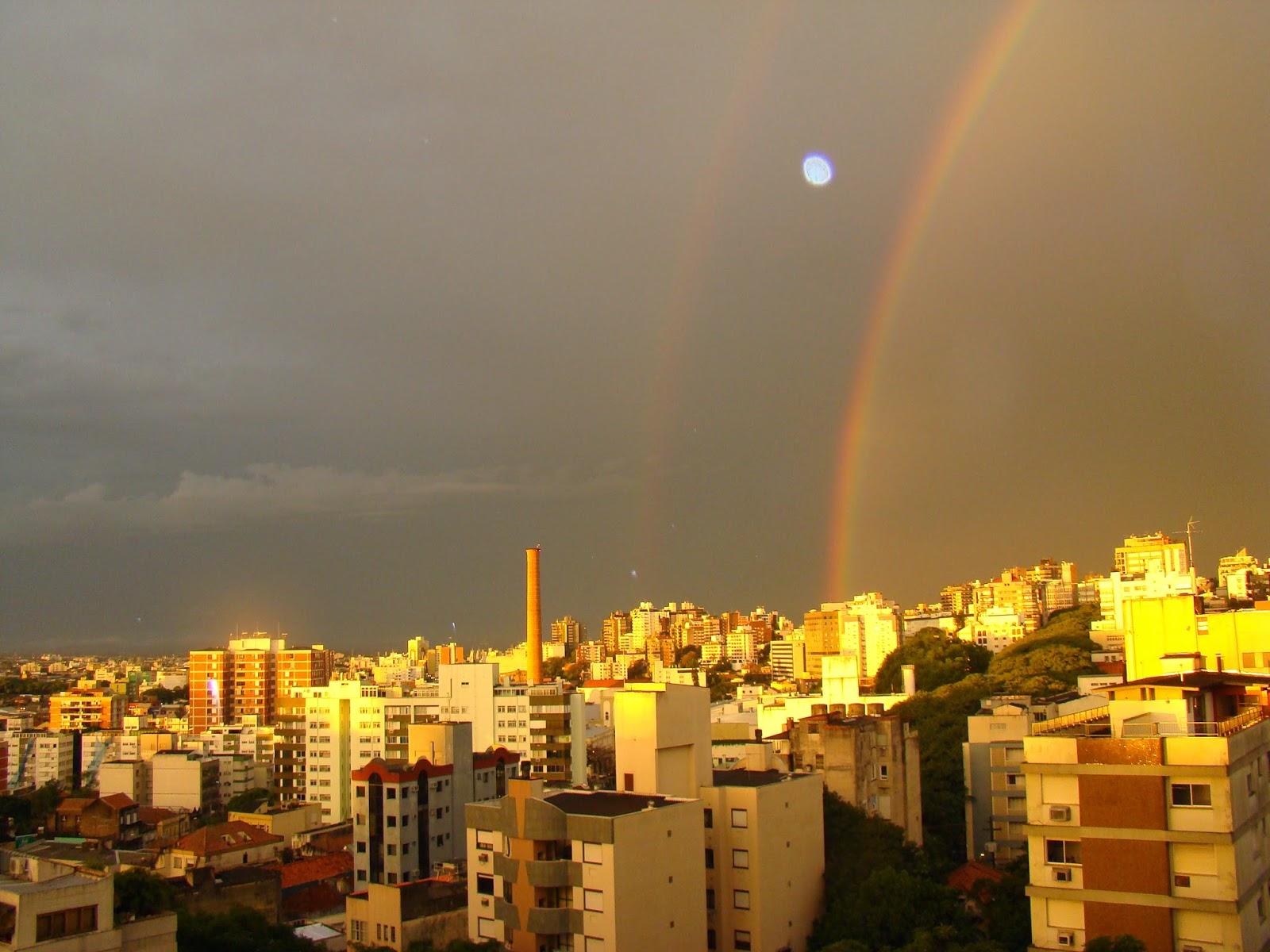 Porto Alegre - arco iris