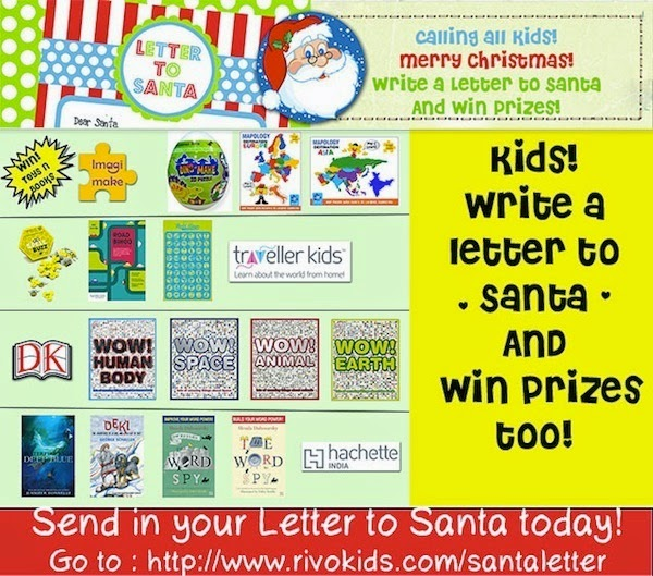 Contest !! Write A Letter To Santa & Help Someone Win