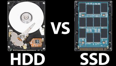 Perbedaan SSD dan HDD Yang Belum di Ketahui