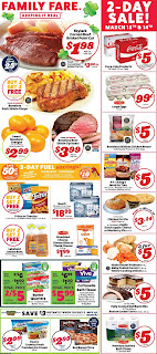 ⭐ Family Fare Ad 3/25/20 OR 3/29/20 ⭐ Family Fare Weekly Ad March 25 2020
