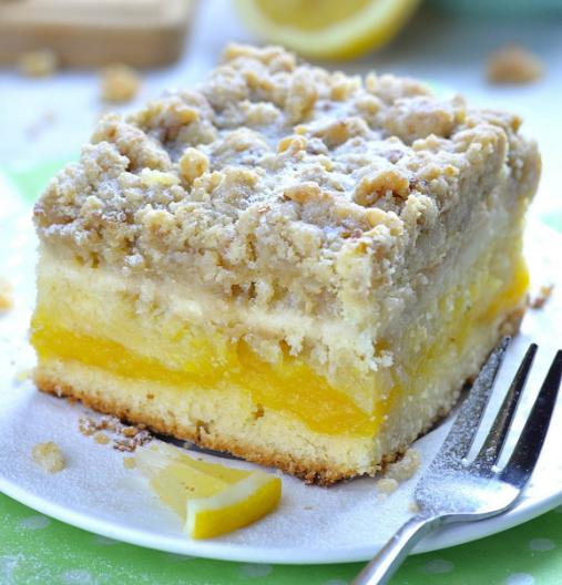 Lemon Coffee Cake #lemon # cakes