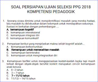 Soal Pretest Ppg 2018 Rpp Silabus Rpp Silabus