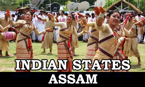 Kerala PSC - Indian States (Assam)