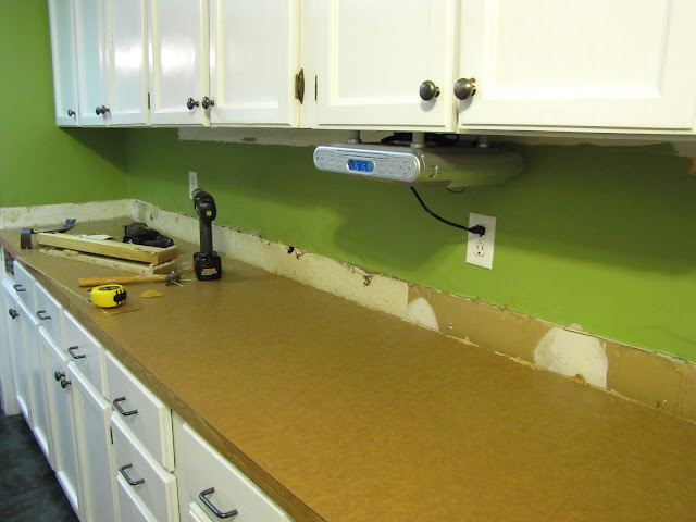 diy beadboard back splash