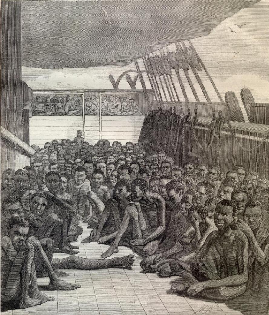 Shipping slaves
