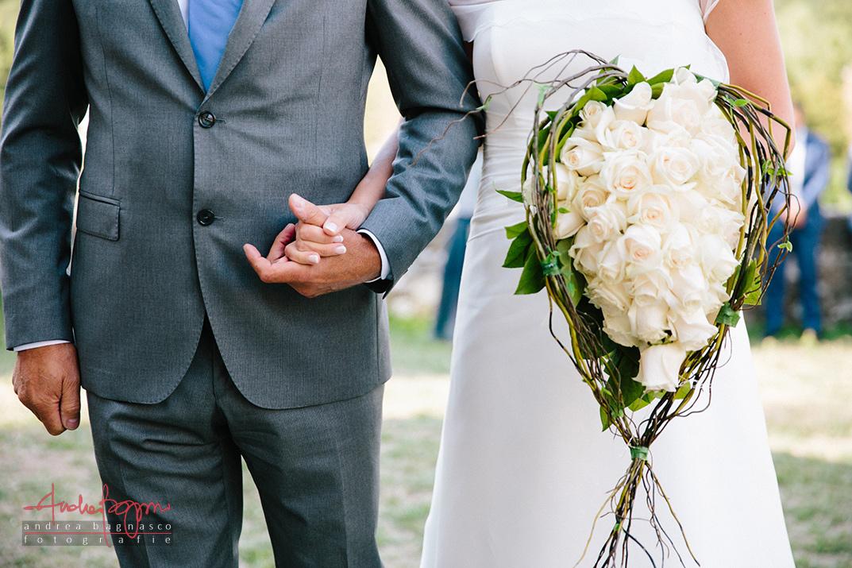 bouquet rose sposa matrimonio