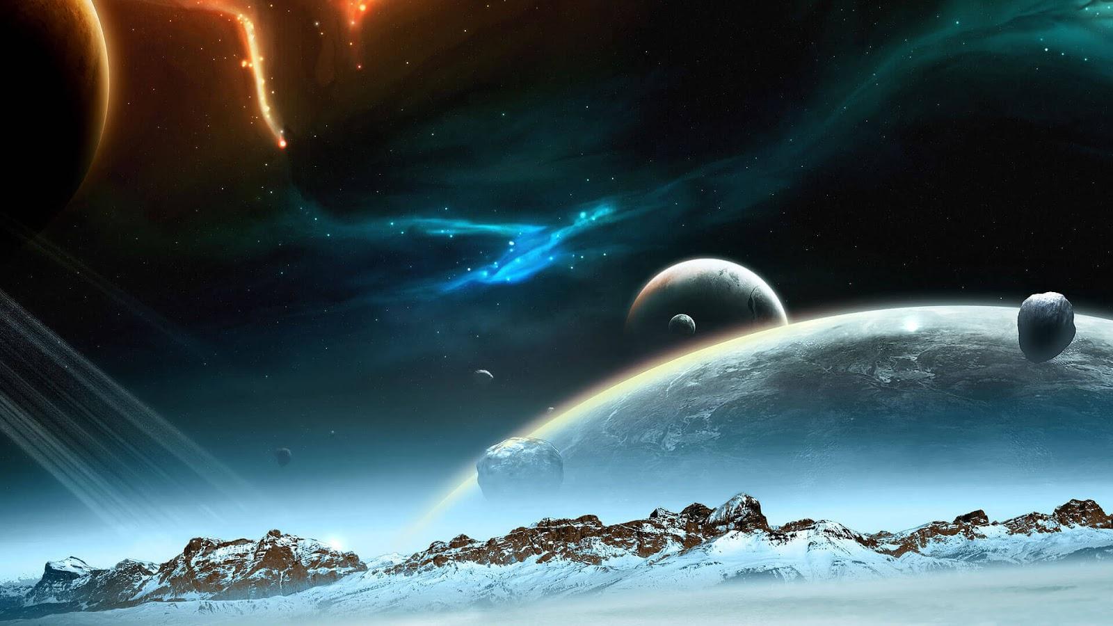 3D Universe HD Wallpaper