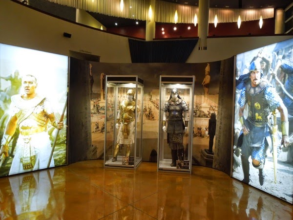 Exodus Gods and Kings movie costume display