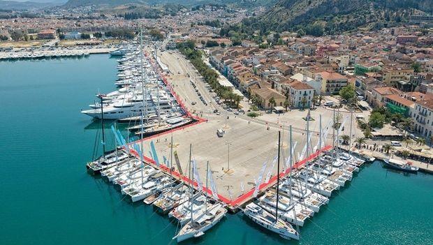 Η ελίν χρυσός χορηγός στο 5ο Mediterranean Yacht Show στο Ναύπλιο