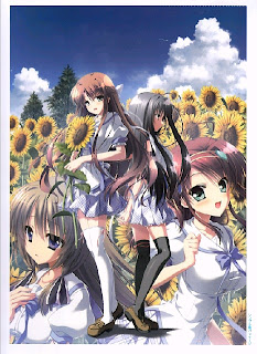1 [Artbook] 夏空のペルセウス ビジュアルファンブック [Natsuzora no Perseus Visual Fan Book]