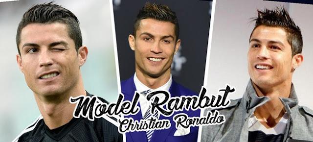 Model Rambut Populer Christian Ronaldo