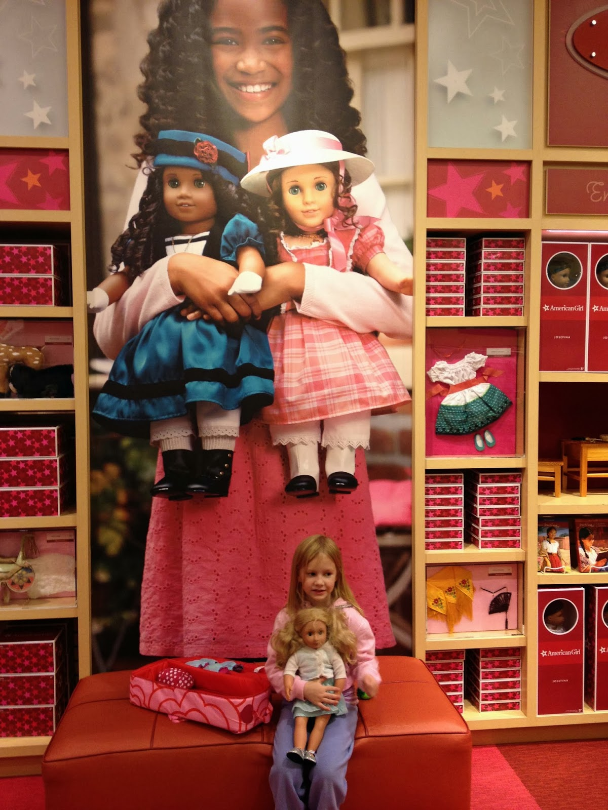 American Girl Bistro outside Washington DC