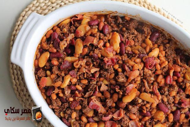 بالخطوات طاجن الفاصوليا بالبطاطا فى الفرن بالصورkidney bean