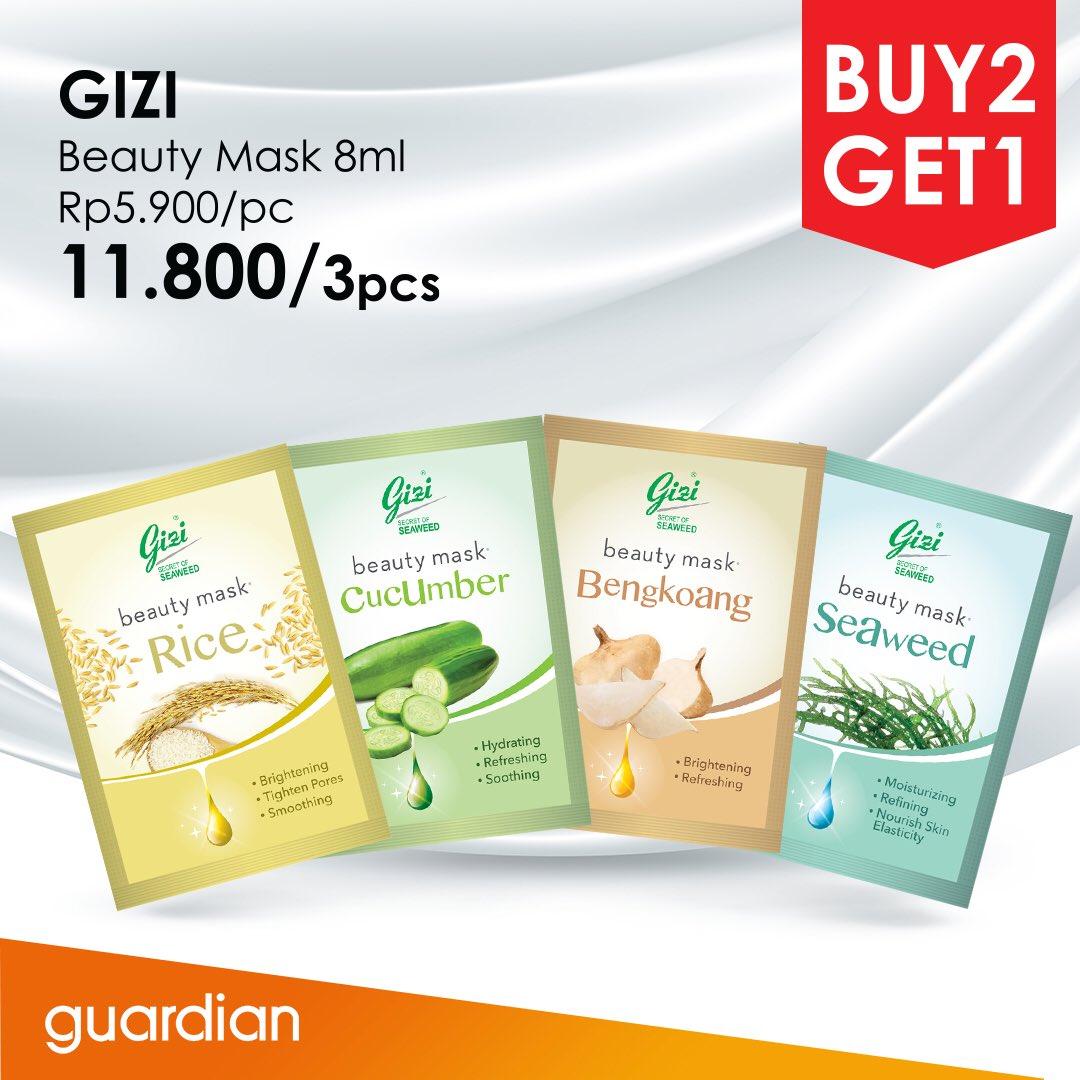 Guardian - Promo Celebon Buy 1 Get 1 & Gizi Buy 2 Get 1 (s.d 24 Okt 2018)