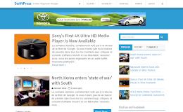 SwiftPress Technology blogger template