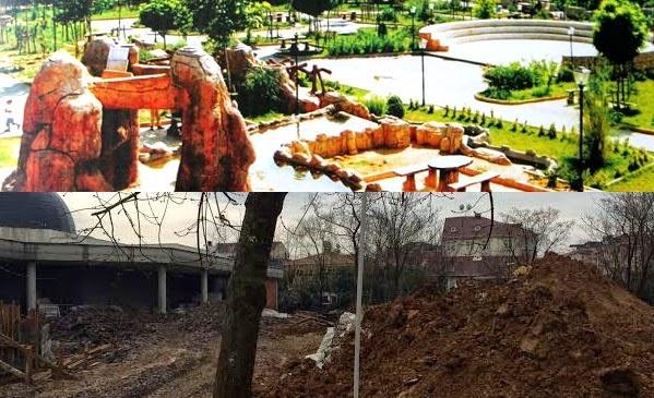 Yaşar Kemal Parkı komplekse dönüştürülüyor!