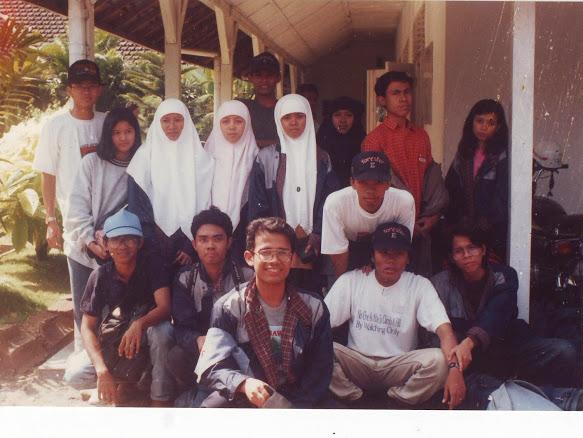 foto mahasiswa Fahutan IPB di KPH Madiun