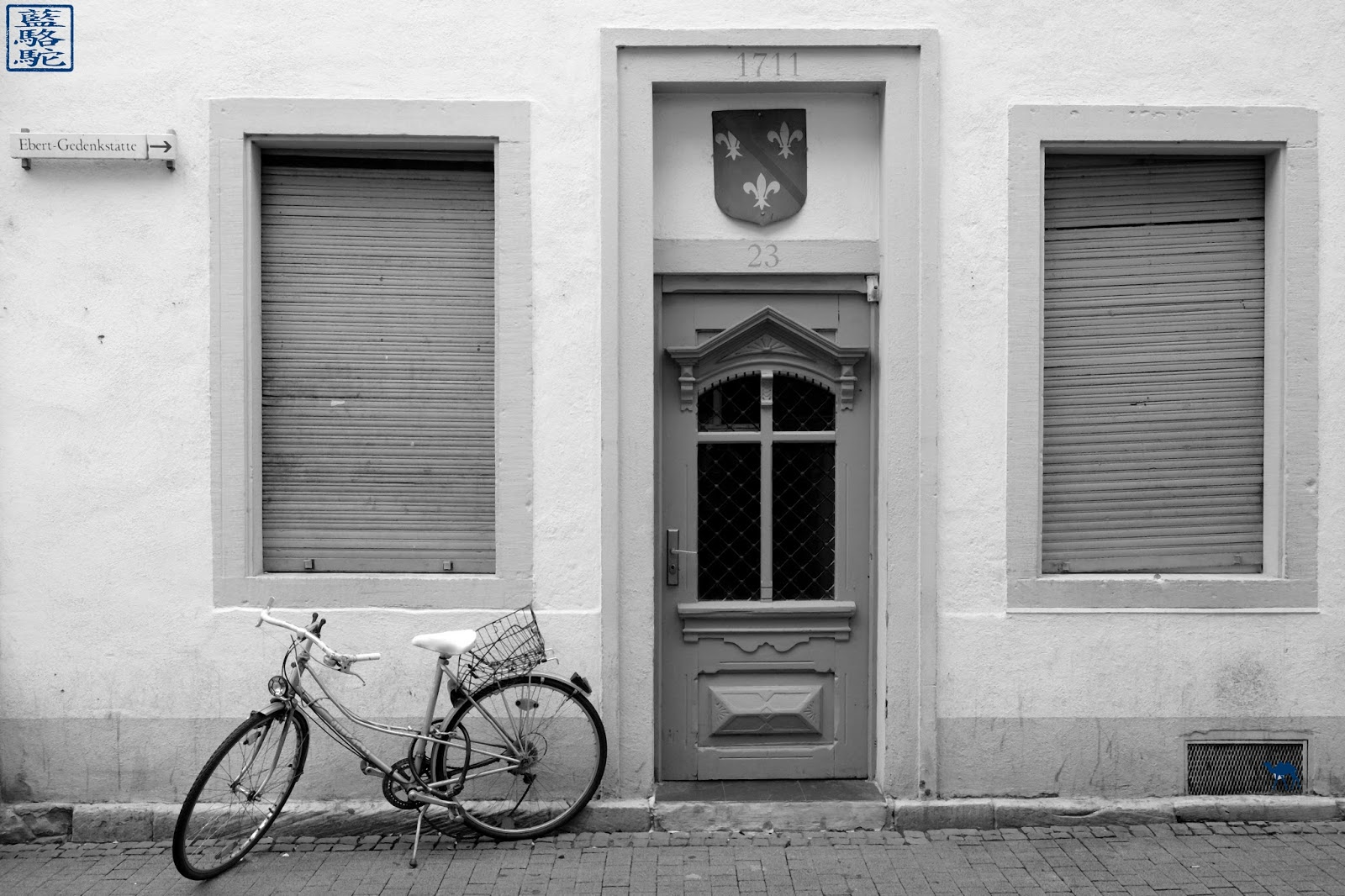 Le Chameau Bleu - Blog Voyage Heildeberg Allemagne - Facade d'Heildeberg - Allemagne