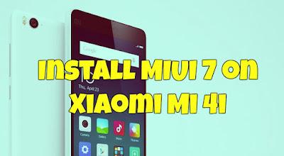 Kumpulan ROM MIUI 7 Xiaomi Mi4i Terlengkap (Global/China) (Global Dev/China Dev) ROM OTA + Fastboot v5.8.22
