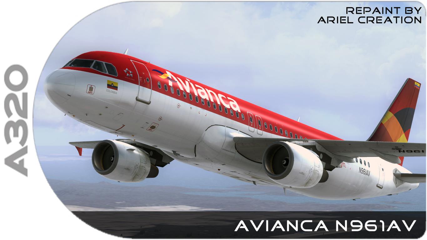 Aerosoft Airbus A320 Avianca Livery FSX - Ariel Creation - Flight