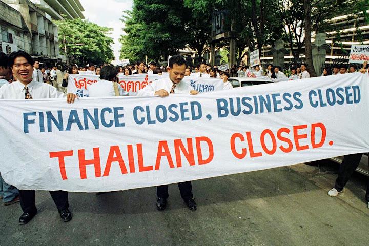 Экономическая ситуация вТаиланде является худшей вАзии