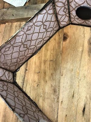 Sara Emily Barker http://sarascloset1.blogspot.com/ Field Notes Mini Album 3D Texture Fade Lumber 5