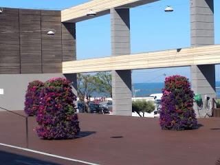 Terraza parador hotel Atlantico