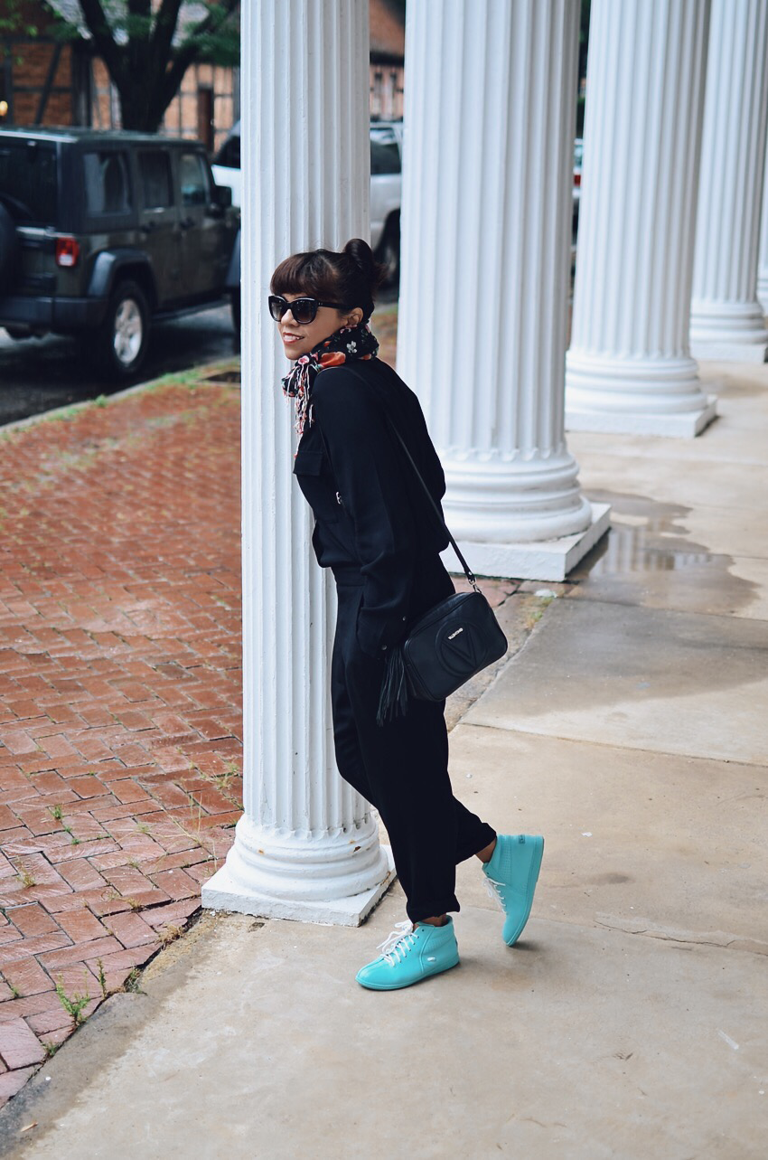 High Top Sneakers Street Style