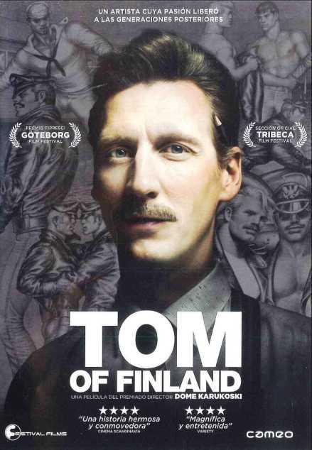 """VER ONLINE Y DESCARGAR PELICULA """"Tom de Finlandia"""" - """"Tom of Finland"""""""