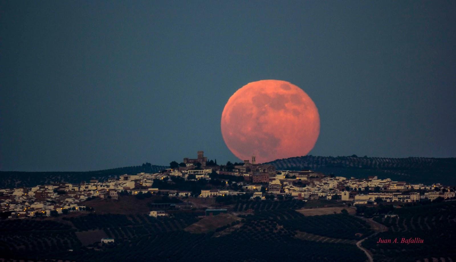 Resultado de imagen de superluna real