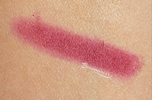 Lancome Color Design Matte Lip Crayon: swatch of 340 Only Wine Will Tell