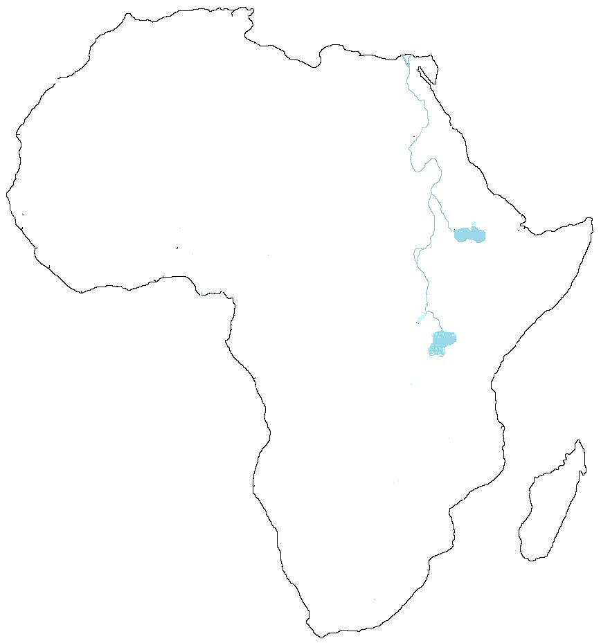 Mapa De Africa Vacio.Historia Primero 3 Mapa Mudo De Africa
