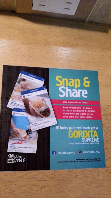 taco bell snap and share contest