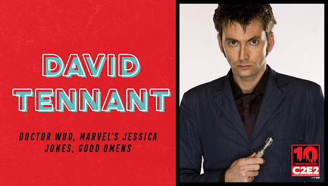 David Tennant - Chicago Comic And Entertainment Expo fan convention (C2E2) on Saturday 23rd and Sunday 24th March 2019