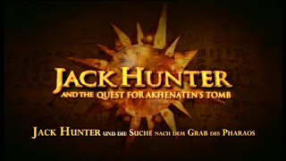 Jack Hunter and the Quest for Akhenaten's Tomb title