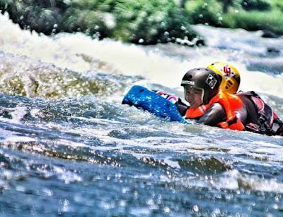 Riverboarding di Kali Pusur