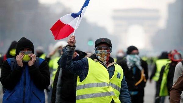 Protesta de Chalecos Amarillos es respaldada por pueblo francés