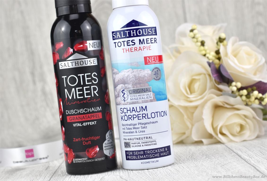 beautypress News Box Dezember Special Edition - Salthouse Totes Meer Duschschaum und Schaum Körperlotion