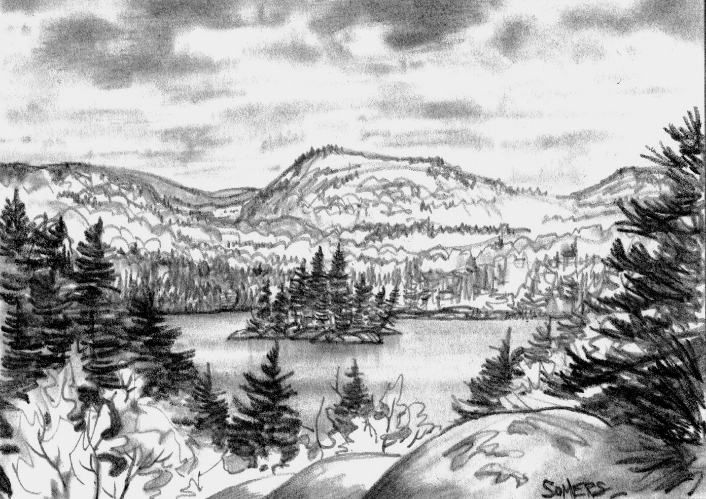 Time Spent Making Art: ALGOMA - Group of Seven Country