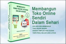Membangun Toko Online Sendiri dalam Sehari