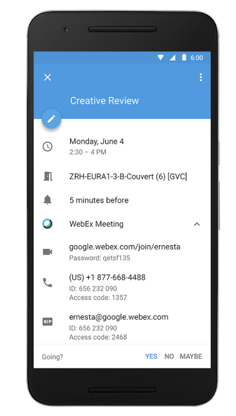 g suite updates blog third party conferencing available in google
