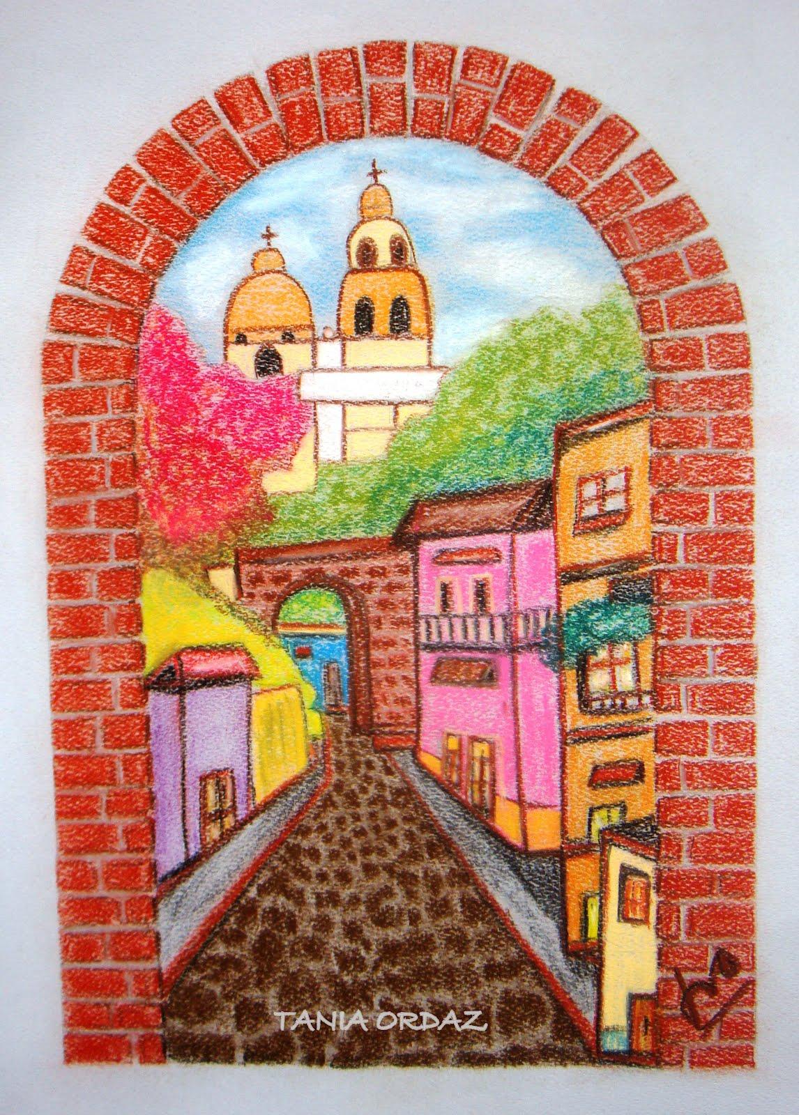 Pinturas de Tania Ordaz marzo 2012