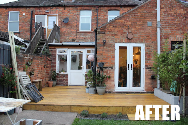 scaffold decking before and after