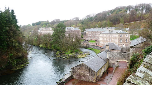 A Wonderful Family Day Out in Scotland at New Lanark World Heritage Site & The Falls of Clyde