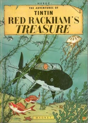 Download free ebook Tintin and the Red Rackhams Treasure pdf