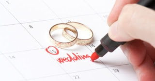 ilustrasi pernikahan unik